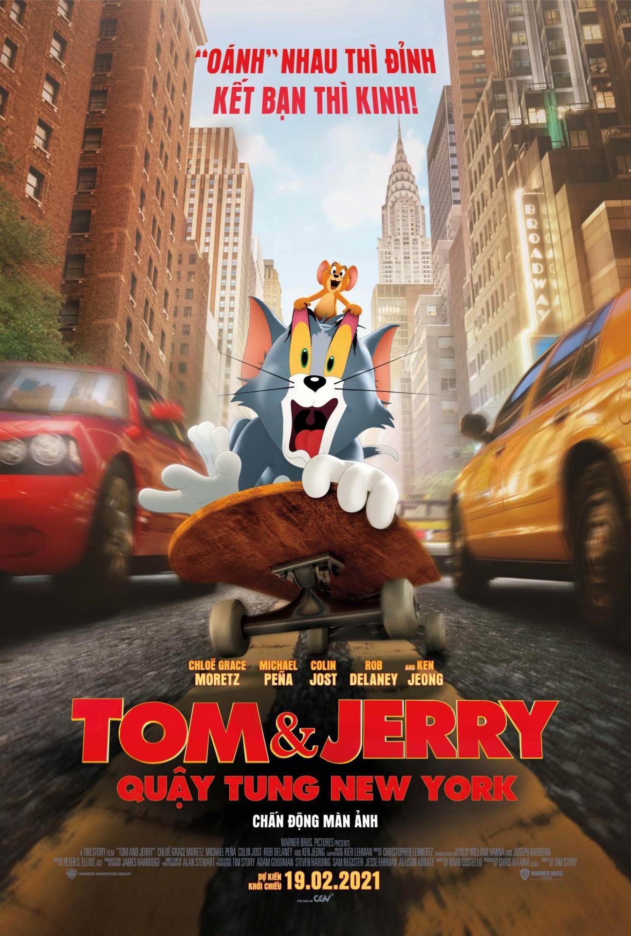 [TOM & JERRY: QUẬY TUNG NEW YORK] - Khi các nhân vật hoạt đóng chính trong những bộ phim live-action đình đám: Ai ấn tượng nhất?